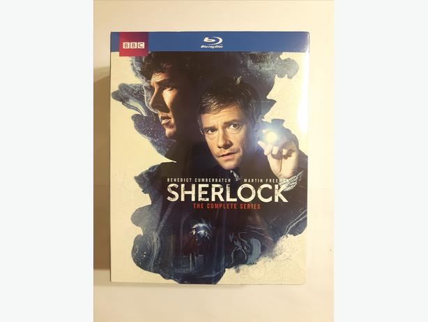 Sherlock: Complete Series 1 - 4 & The Abominable Bride on Blu-ray