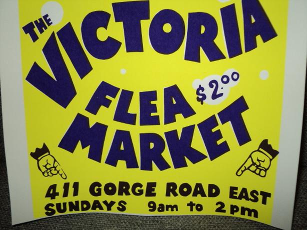 Victoria Flea Market. Re-opening Fall 2019 KIDS FREE.
