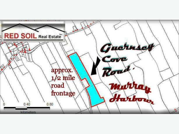 Large Acreage, Guernsey Cove Road, Murray Harbour