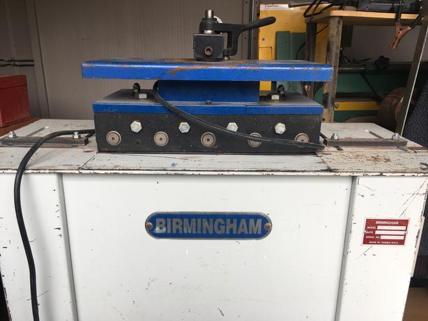 Pittsburgh sheet metal jointer