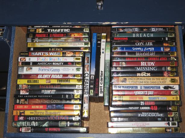 DVDs over 370 available all great titles