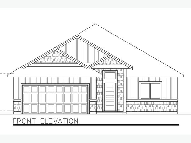 Craftsman Home in the Final Phase of Stone Manor Estates