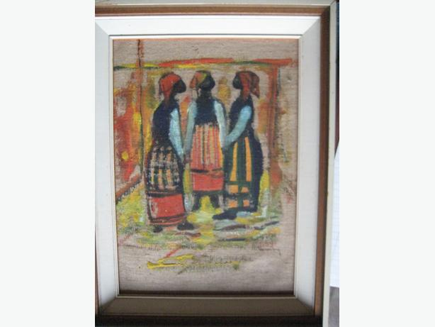 JAMAICAN OIL PAINTING