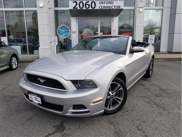 2013 Ford Mustang V6 PREMIUM POWER CONVERTIBLE TOP, LEATHER