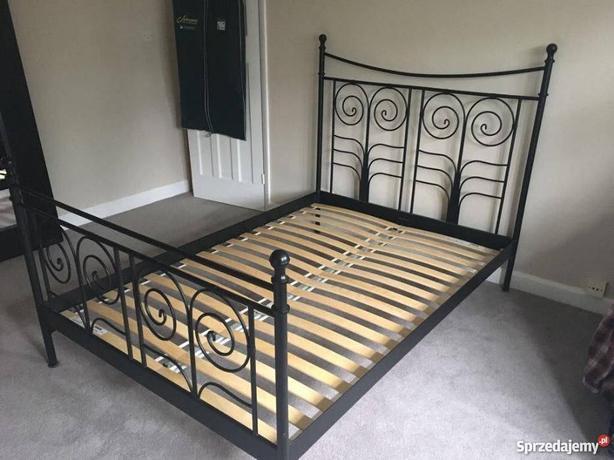 Ikea Black Metal Noresund Bed Queen Duncan Cowichan