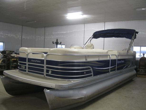 2009 Aqua Patio 22' Pontoon Boat w/2010 Honda 50hp 4 Stroke