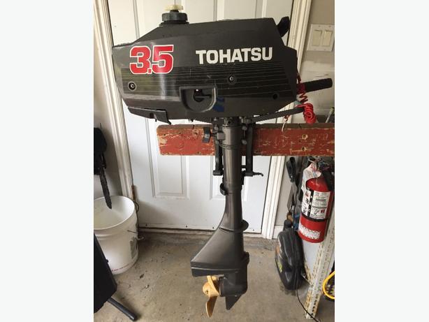 tohatsu nissan 3 5 hp outboard motor Malahat (including Shawnigan