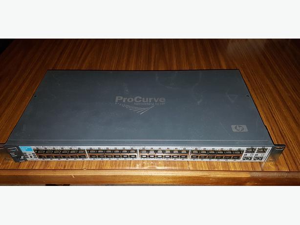 HP Procurve J9088A 2610-48 48-Port 10/100 Network Managed Switch