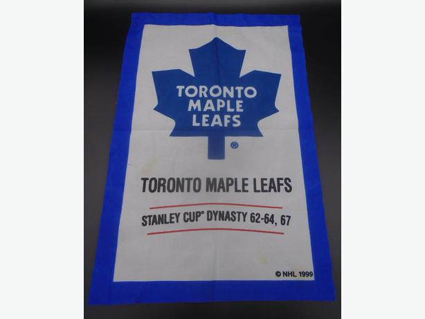 VINTAGE 1999s NHL TORONTO MAPLE LEAFS STANLEY CUP DYNASTY BANNER
