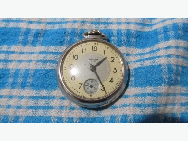 OLD WESTCLOX DAX POCKET WATCH