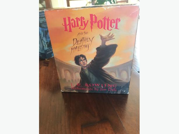 Harry Potter And The Deathly Hallows Audiobook Cds By Jk Rowling