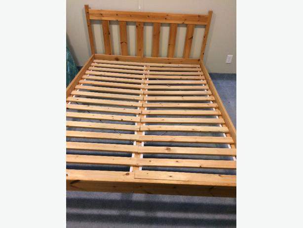 Ikea Bed Frame Queen Saanich Victoria