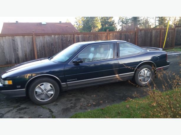 Mint Condition 1991 Oldsmobile Cutlass Supreme A Classic Outside