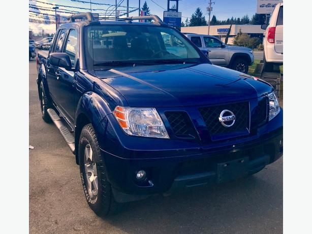 2011 Nissan Frontier Pro 4X Crew Cab is Near Perfect.