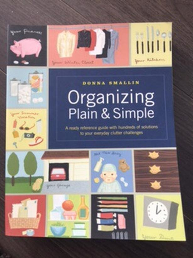 Organization and Decluttering books