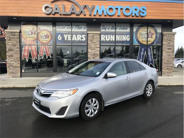 2012 Toyota Camry LE - DUAL CLIMATE CONTROL, BC ONLY, NO ACCIDENTS