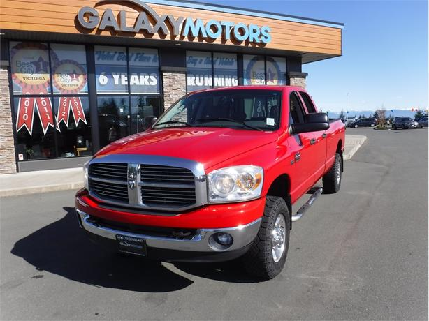 2009 Dodge Ram 2500 SXT- QuadCab 5.7L V8 Long Box - 4WD