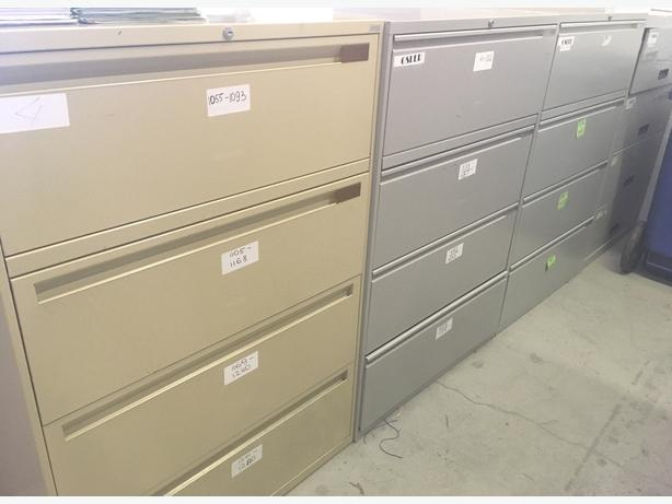 4 Drawer-Filing Cabinets