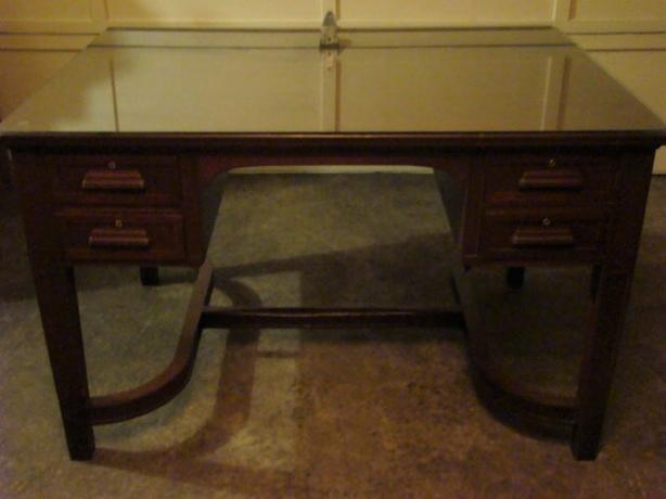 Antique Partners Desk Rent Treadmill Desk