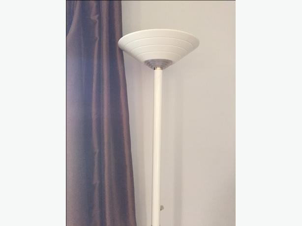 WANTED:  1  white Torchiere Floor lamps