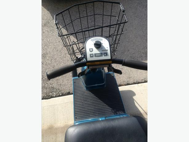 ELECTRIC OPTIWAY FORTRESS SCOOTER