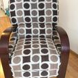 Brown/Beige recliner for sale