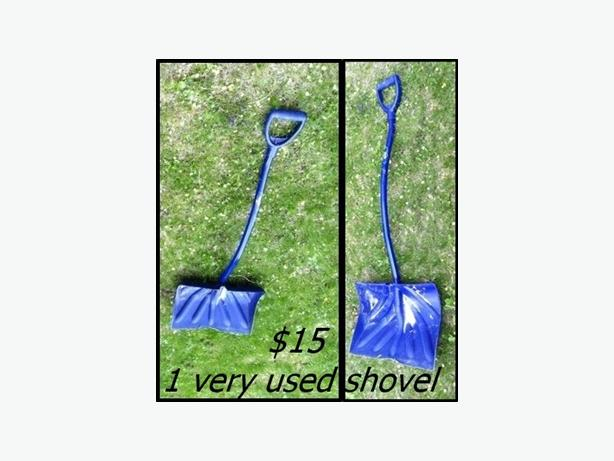 Old Well Used Shovel $15 // Parts shovels $10 & $15 for 4