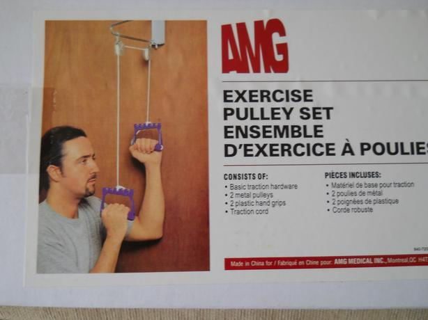 Pulley for exercise