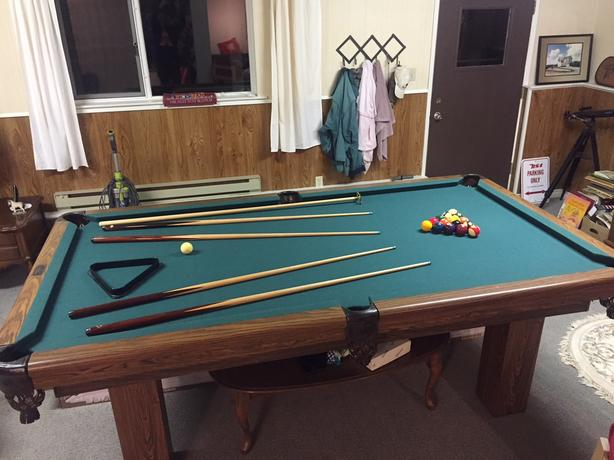 Dufferin Pool Table Central Saanich Victoria - Dufferin pool table