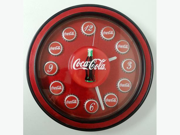 Coca-Cola Bottle Cap Wall Clock
