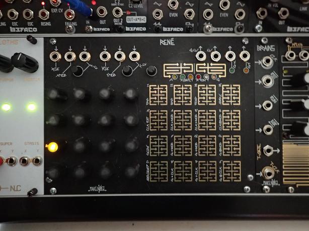 Eurorack Make Noise Rene Cartesian Sequencer Victoria City