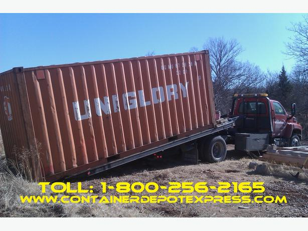 20' and 40' steel shipping containers for rent or purchase!