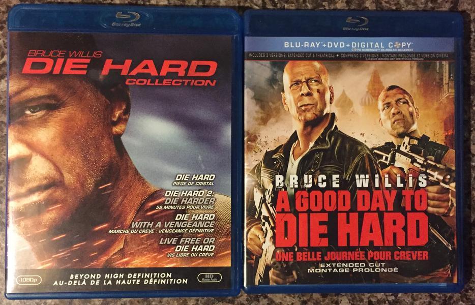 Die Hard Collection 1 5 On Bluray Orleans Ottawa