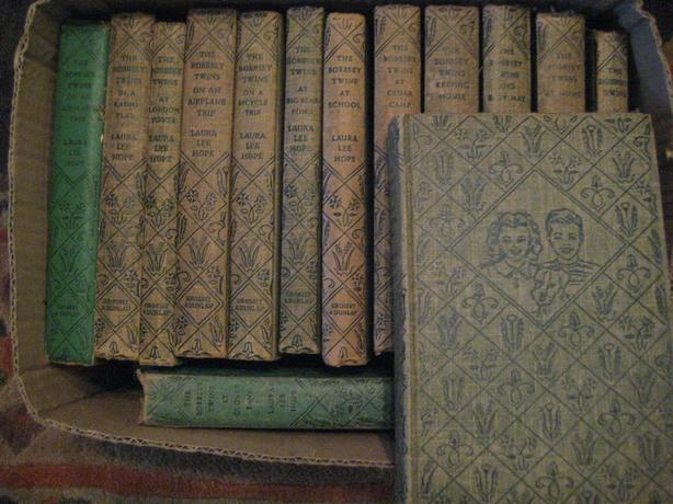 Vintage Bobbsey Twin Books