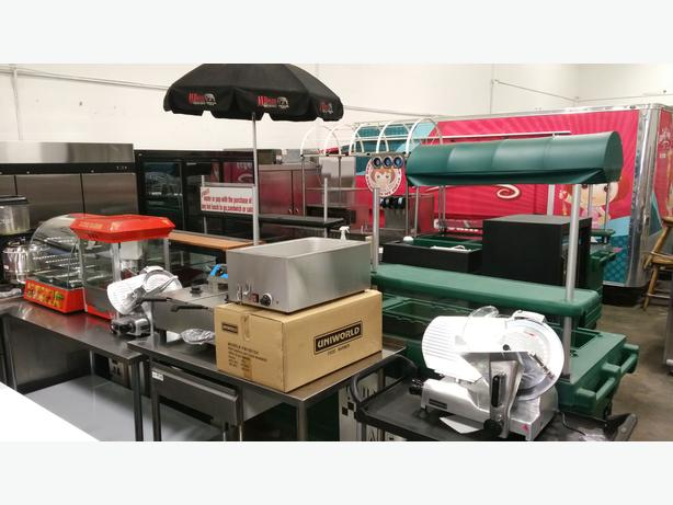 Massive April 7th Spring Food Equipmnent Auction