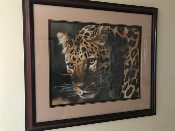 """ EAST OF THE SUN - CHINESE LEOPARD "" by CARL BRENDERS"