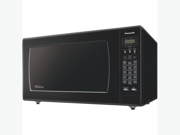 Panasonic NNSN968B Countertop Microwave - 2.2 Cu. Ft. - Black