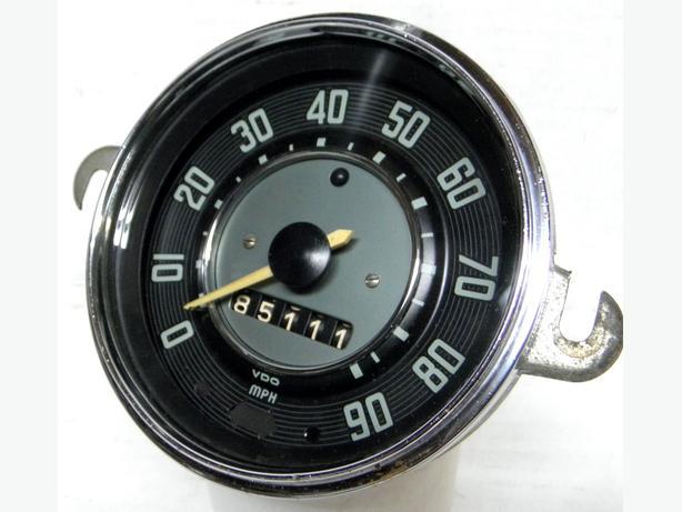 1967 66 65 to 56 VW Bug Volkswagen Beertle Speedometer Karman Speedo