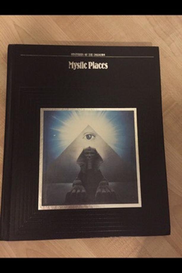 Mystic places book