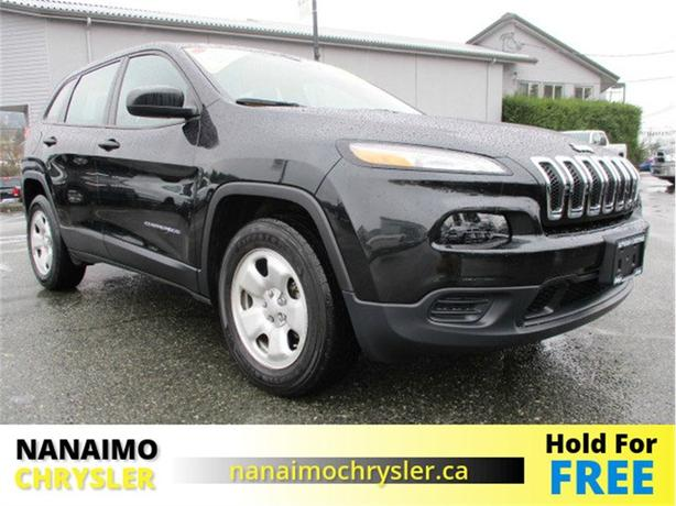 2016 Jeep Cherokee Sport One Owner Low Kilometers