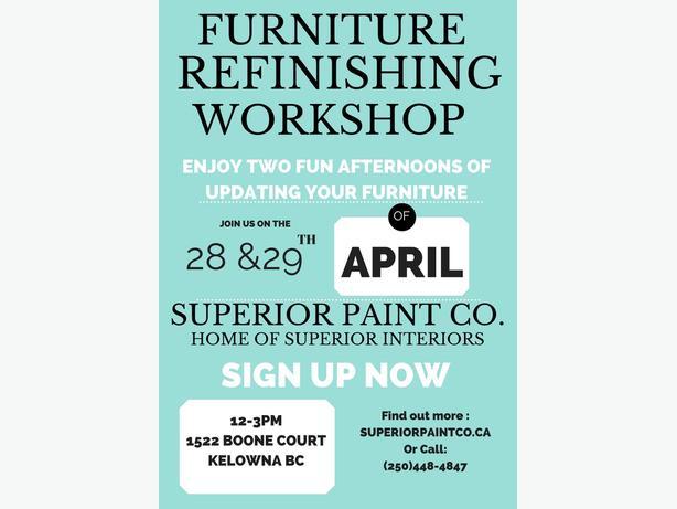 Furniture Refinishing Workshop