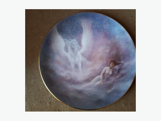 $40.00 for each plate The Hamilton Collection round ceramic decorative plates