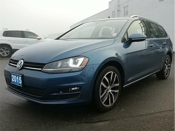 2015 Volkswagen Golf Sportwagon Highline 2.0 TDI DSG LOW KMS ! DIESEL ! RARE