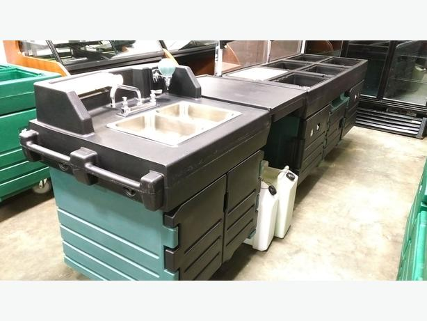 Cambro Sink & Kiosk - April 7 MASSIVE Food Equip Auction