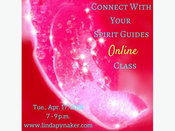 Connect With Your Spirit Guides Online Class - April 17