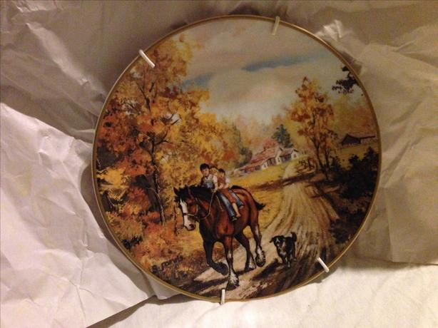 Georgia Jarvis collectible plate