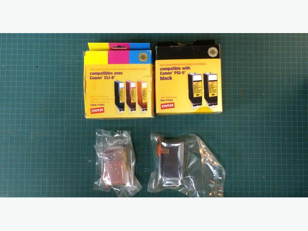 Unused Canon Inkjet Cartridges (Yellow and Black)