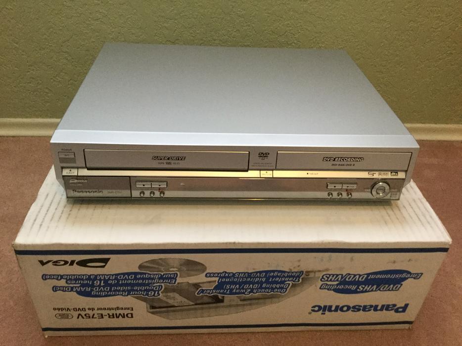 panasonic dmr e75v dvd vhs recorder saanich victoria rh usedvictoria com panasonic dmr-e75v owners manual panasonic dmr-e75v owners manual