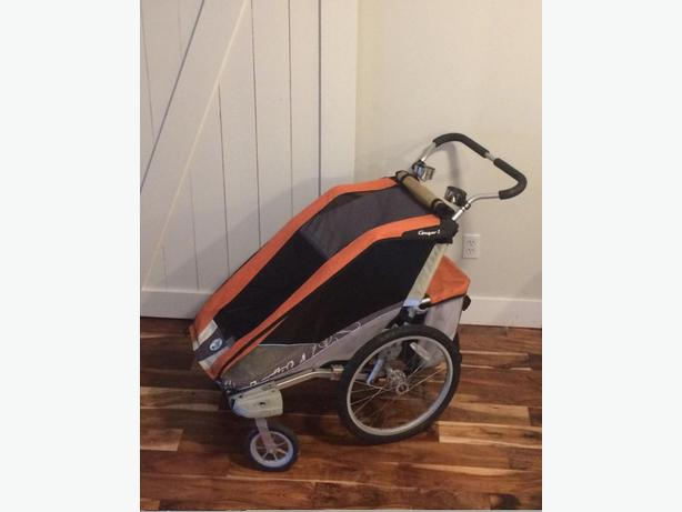 Chariot cougar Jogging stroller and bike trailer Malahat ...