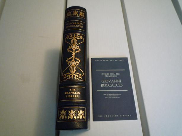 Franklin Library- Giovanni Boccaccio - Stories from the Decameron